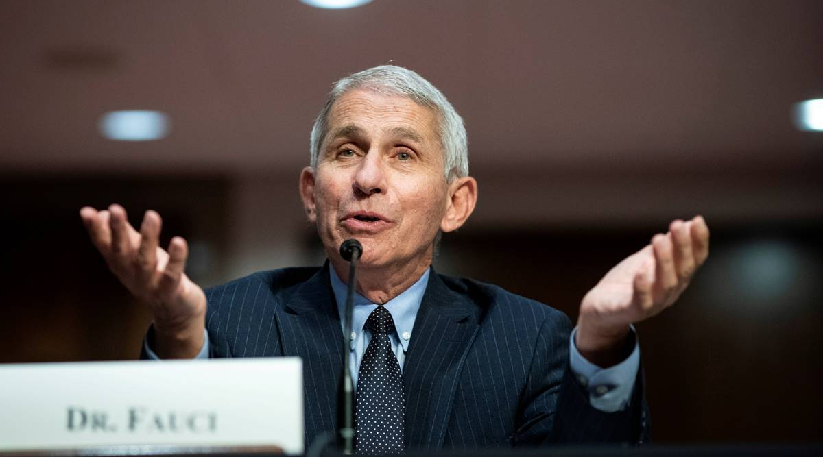 Anthony Fauci says U.S. coronavirus infections may be plateauing