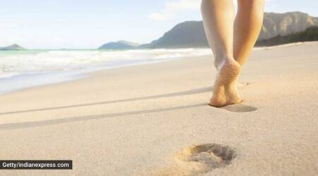 Walking barefoot on soil, earthing, what is earthing, luke coutinho, who is luke, why should you walk on soil barefoot, living close to nature, indianexpress.com, indianexpress