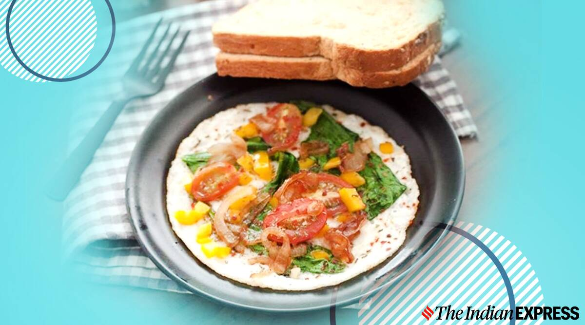 egg white frittata, what is a frittata, fried omelette, archanaskitchen recipes, easy breakfast recipes, easy recipes, breakfast recipes, italian frittata, indianexpress.com, indianexpress,