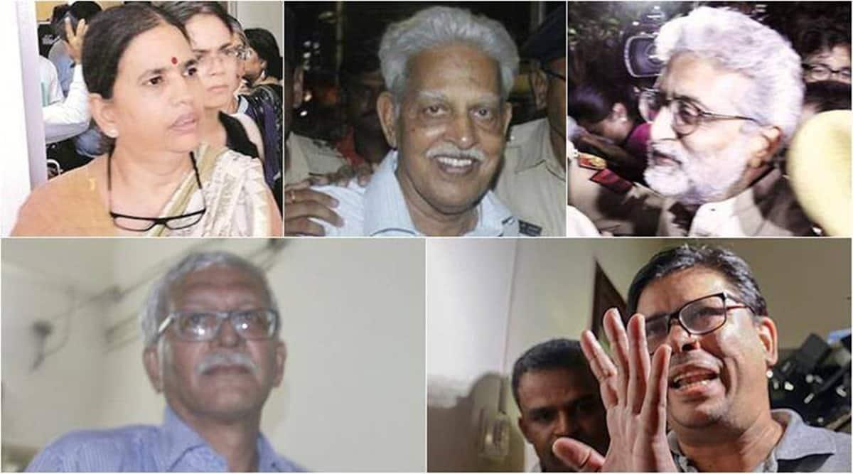 elgaar parishad case, elgaar parishad case arrests, Hemant Soren, stan swamy, Sitaram Yechury, elgaar parishad news, indian express news