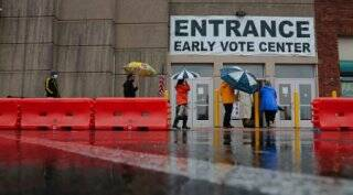Early voting surges ahead of 2020 US Presidential election