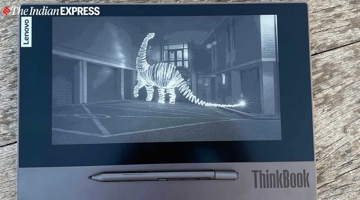 Lenovo ThinkBook Plus, ThinkBook Plus dual screen, ThinkBook Plus e-ink screen, e-ink screen ThinkBook Plus, ThinkBook Plus price in India