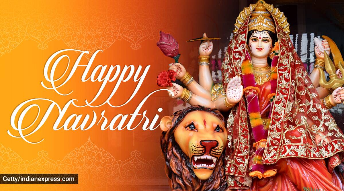 View Wishes Navratri 2020 Gif Download Background