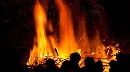 China fire, China theme park fire, theme park fire in China, China theme park, World news, Indian Express