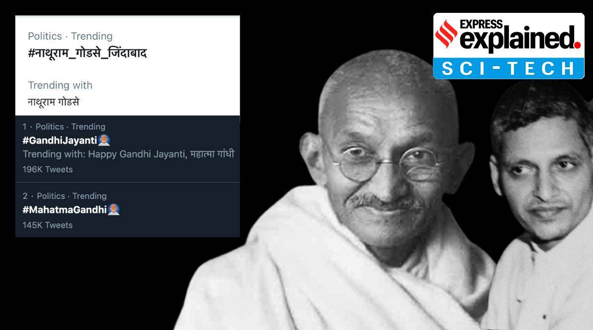 Mahatma Gandhi, Gandhi jayanti, twitter, twitter nathuram godse, twitter trend nathuram godse, nathuram godse zindabad trending