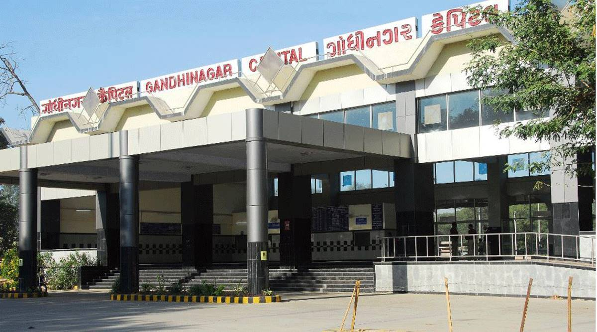 Gandhinagar railway station, Gandhinagar railway station renovation, Gandhinagar railway station redevelopment cost, gujarat news