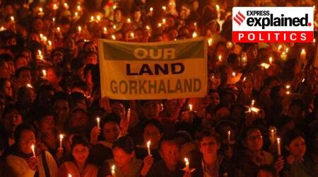 Gorkhaland, Gorkhaland protests, West Bengal Gorkhaland protests, Bengal Gorkhaland protests, Gorkhaland issue, Bengal elections, Bengal assembly polls, Bengal Assembly elections, Bengal elections 2021, Bengal polls 2021, Explained Politics, Express Explained, Indian Express