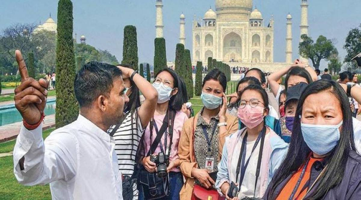 Tourist guides in india, RLG, Regional Level Tourist Guides, tourist guides licence India, tourist guides at ASI monuments, india tourism industry covid, indian express