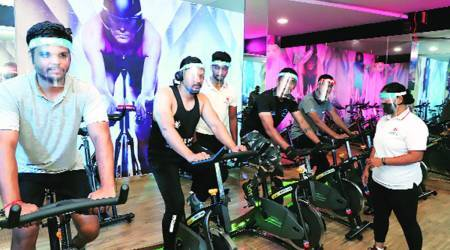Maharashtra gym reopen, fitness centres reopen in Maharashtra, Maharashtra covid restriction, Mumbai news, Maharashtra news, Indian express news
