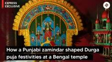 How a Punjabi zamindar shaped Durga puja festivities at a Bengal temple