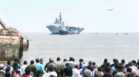 INS Viraat, INS Viraat dismantling, ins virat end, INS Viraat, INS Viraat dismantling, INS Viraat journey, INS Viraat news, INS Viraat aircraft carrier, indian express