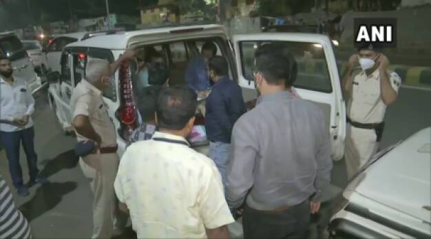 IT raids at Congress Patna office