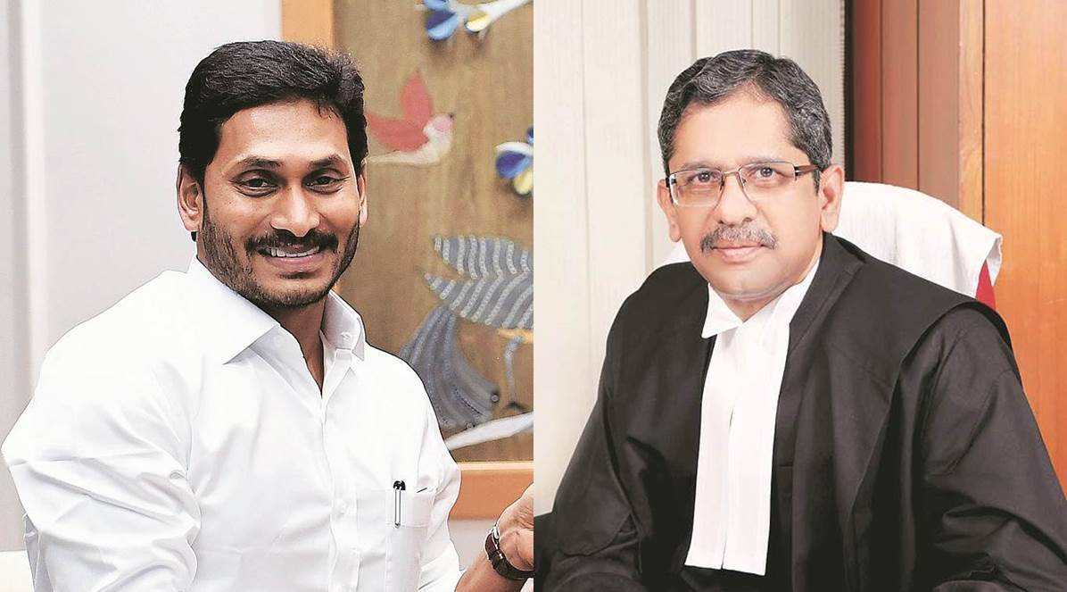 In rare letter to CJI, Andhra CM lists allegations against SC's Judge No. 2  | India News,The Indian Express