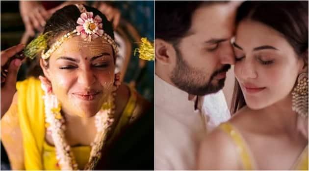 kajal aggarwal gautam kichlu wedding new photos