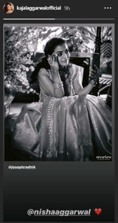 nisha aggarwal at kajal aggarwal wedding