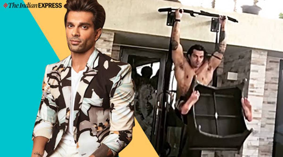 karan singh grover, workout