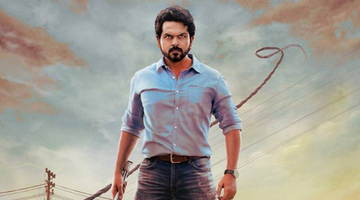 Sulthan first look: Karthi is ready with another action movie |  Entertainment News,The Indian Express