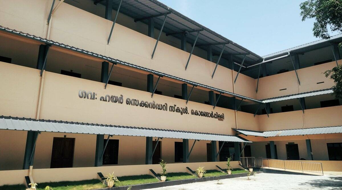 kerala public schools, kerala news, kongarapally, Chief Minister Pinarayi Vijayan, coronavirus pandemic, indian express
