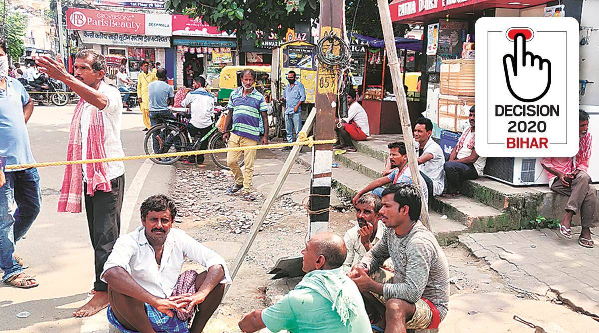 Bihar election, Bihar elections, Bihar assembly polls, Bihar migrants, Bihar migrants votes bihar elections, Nitish kumar Bihar election, Bihar election news, Bihar election coronavirus, bihar news, indian express