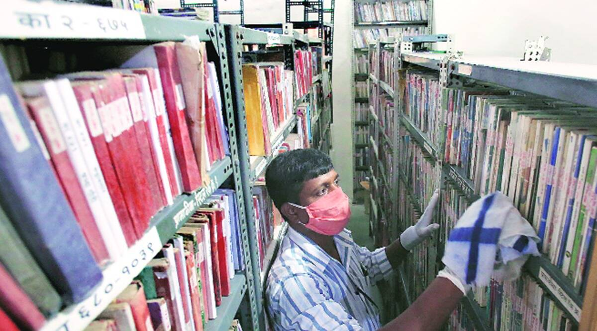 maharashtra coronavirus latest updates, maharashtra unlock 5.0, maharashtra libraries open, apj abdul kalam, maharashtra libraries sop for opening, indian express news
