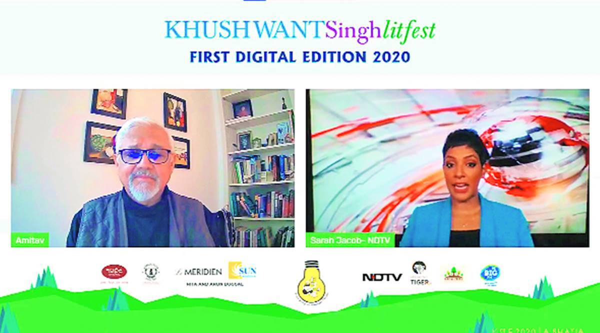 Khushwant Singh Litfest, digital litreture festival, Covid pandemic, CHandigarh news, Punjab news, INdian express news