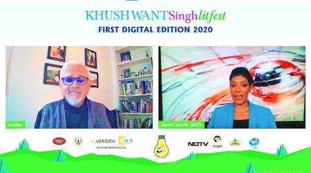 Khushwant Singh Litfest, digital litreture festival, Covid pandemic, CHandigarh news, Punjab news, INdian express news