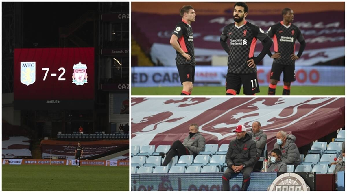 Liverpool embarrassed in 7-2 loss to Aston Villa in Premier League | Sports  News,The Indian Express