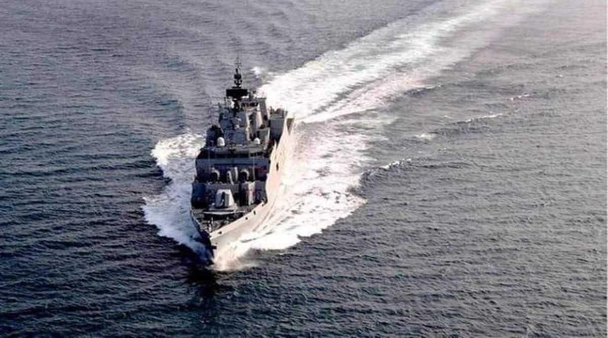 India Australia naval exercise, Malabar exercise, Malabar naval exercise, India Australia Malabar exercise, India Australia Malabar naval exercise, India news, Indian Express