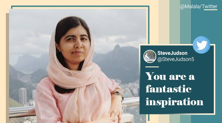 Malala Yousafzai, Malala Yousafzai tweet, Malala Yousafzai thirst traps tweet, Malala Yousafzai viral tweet, Musician Sarjeel, twitter, trending, indian express news
