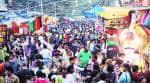 Delhi market, crowd in Delhi market, rise in footfall, Diwali season, Diwali festival, Covid crisis, Delhi news, Indian express news
