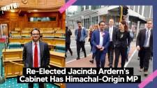 Re-Elected Jacinda Ardern's Cabinet Has Himachal-Origin MP