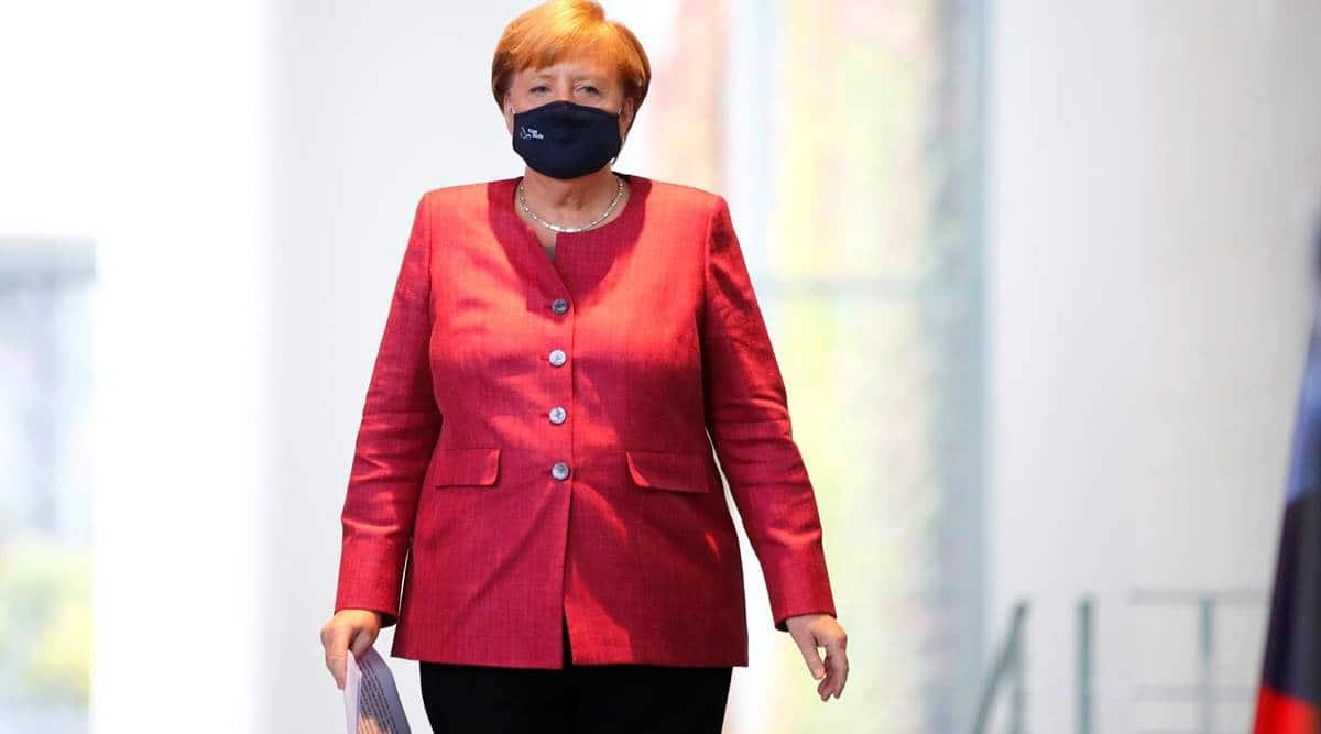 Merkel sounds alert with virus resurgent in Europe's cities