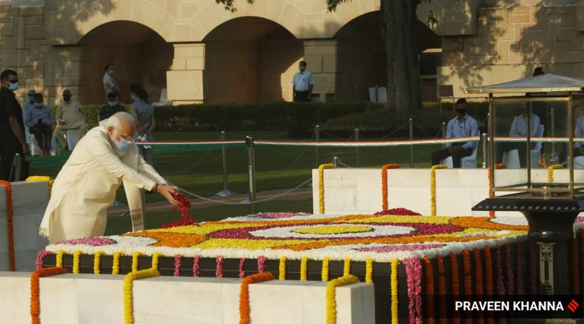 Mahatma Gandhi, Gandhi Jayanti, Gandhi Jayanti 2020, Mahatma Gandhi birth anniversary, PM Modi on Mahatma Gandhi, PM Modi on Gandhi Jayanti, India news, Indian Express