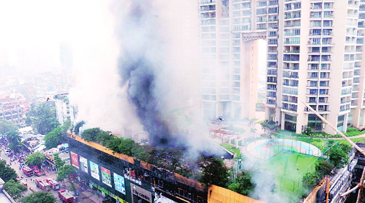 88 fire engines, tankers battle blaze at central Mumbai mall