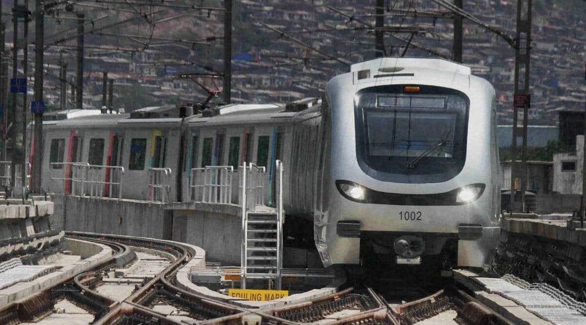 Mumbai covid, maharashtra covid unlock, mumbai metro, mumbai metro resume, mumbai metro resumes operations, mumbai news, indian express news