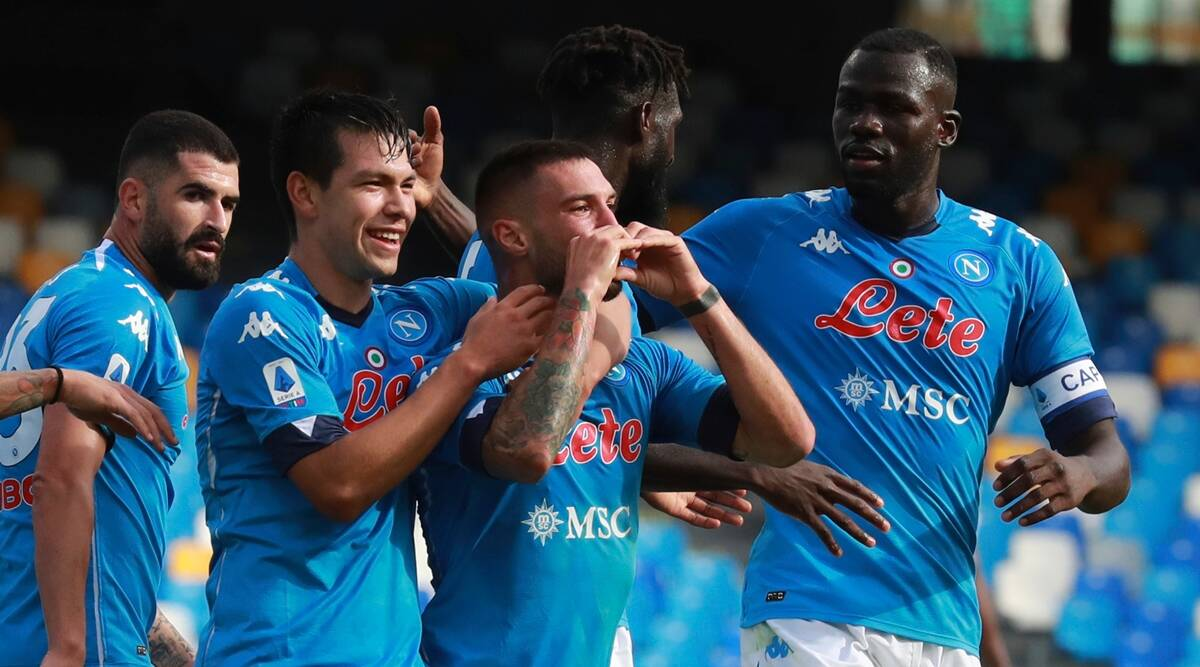 Napoli give Serie A leaders Atalanta a dose of their own medicine | Sports  News,The Indian Express