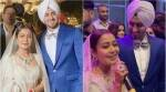 neha kakkar rohanpreet singh wedding chandigarh reception photos videos