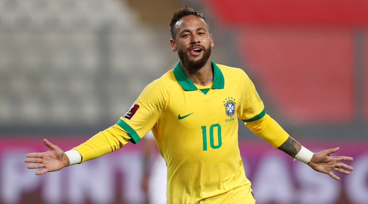 World Cup Qualifers: Neymar hat-trick fires Brazil past Peru, Argentina go joint top | Sports News,The Indian Express