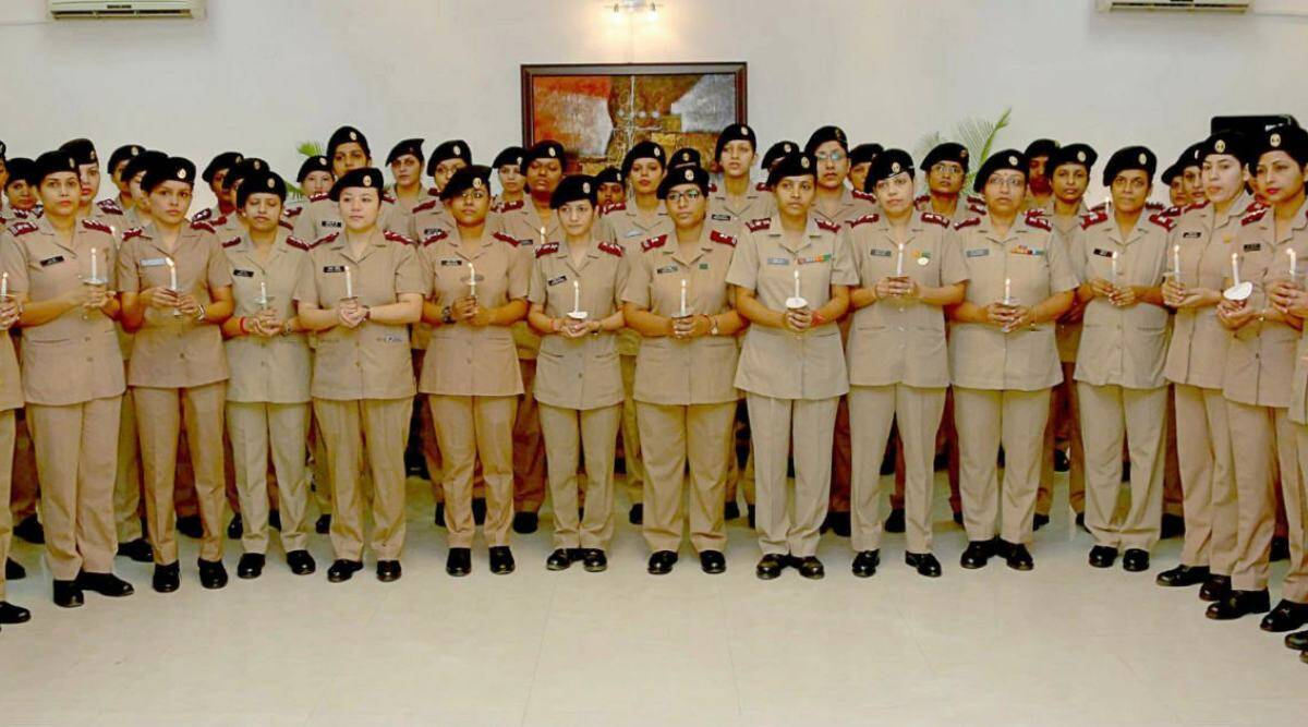 All-women Military Nursing Service, pune news, 95th Raising Day, indian express