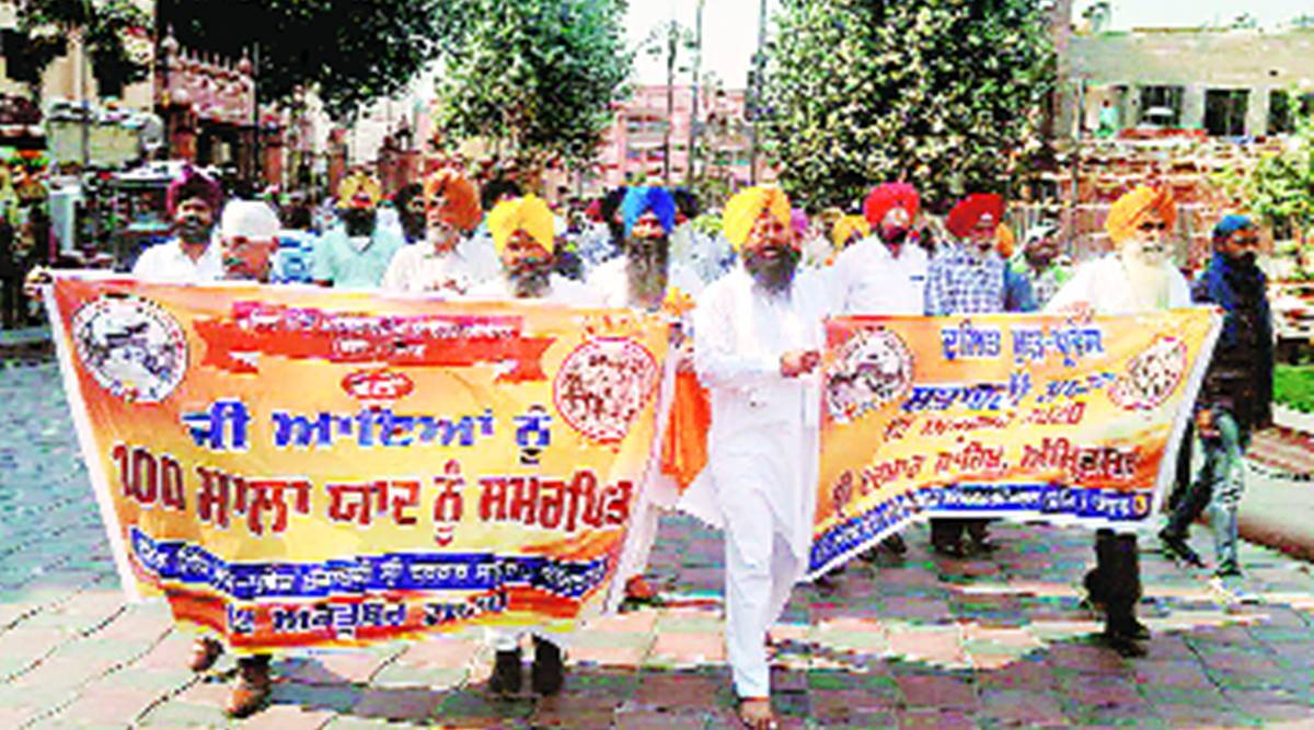 100th anniversary of Dalit right, restoration of Dalit rights, Golden Temple, Amritsar news, Punjab news, Indian express news