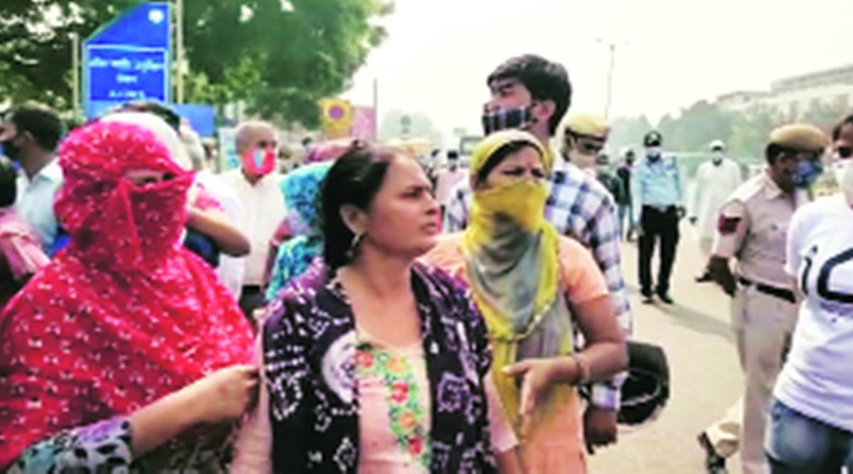 'He did not commit suicide': Family stages protest outside AIIMS