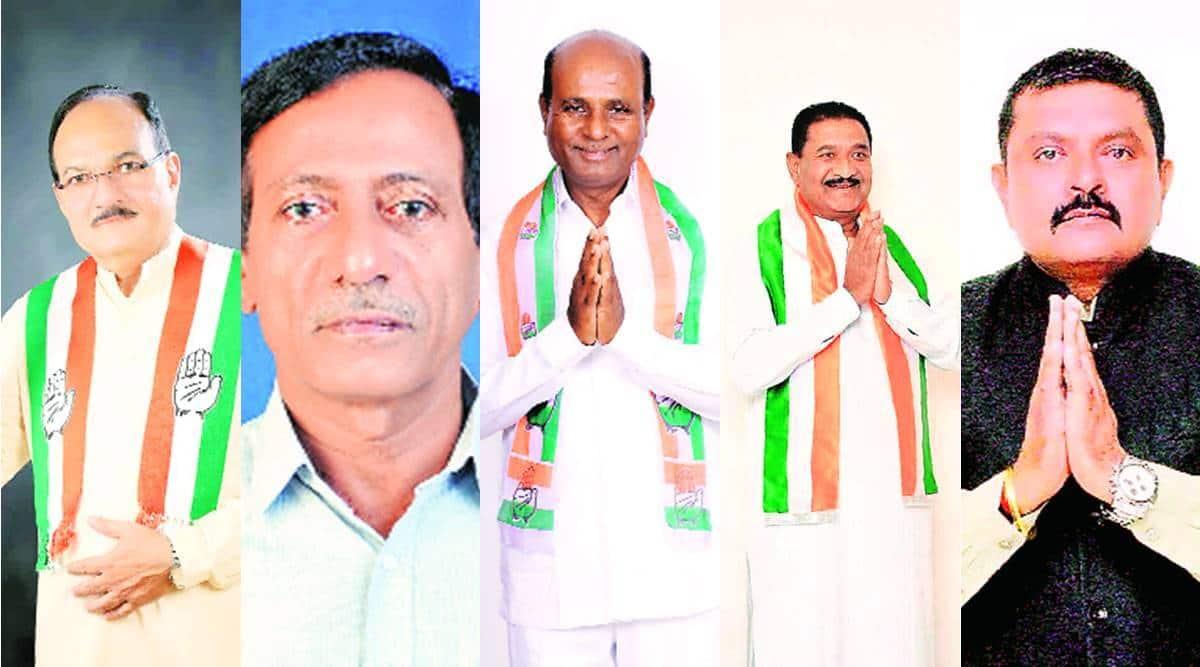 Gujarat assembly bypoll, Congress announces candidates, Gujarat bypoll, Gujarat election, Ahmedabad news, Gujarat news, Indian express news