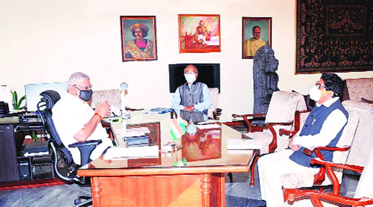 Bangal Governor, Jagdeep Dhankhar on violence, BJP worker shot dead, Governor demands independent probe, Kolkata news, Indian express news