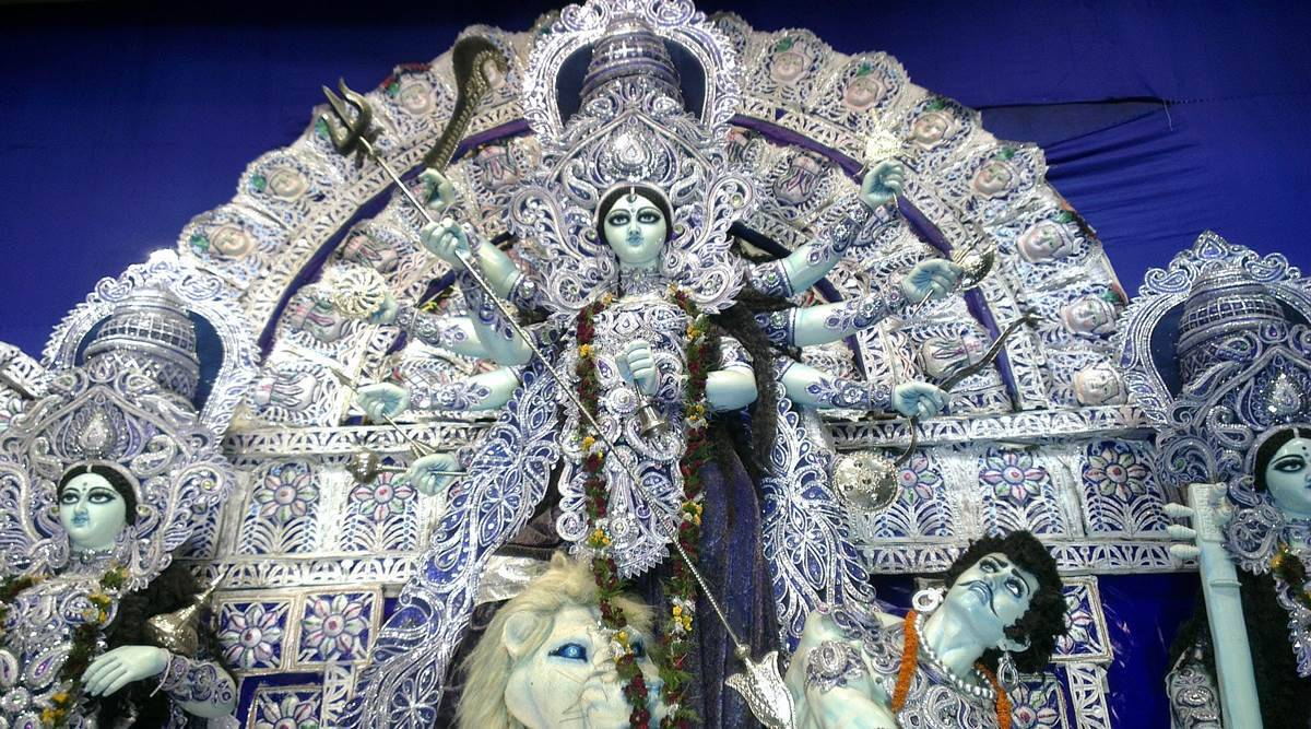 Durga Puja 2020, virtual Durga Puja, online celebration of Durga Puja 2020, online Durga Puja, Durga Puja in the pandemic, indian express news