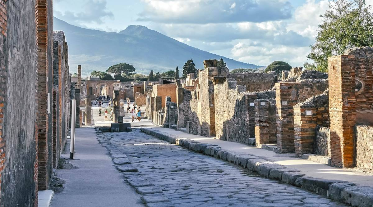 Pompeii in Italy, cursed artifacts in Pompeii, visiting Pompeii in Italy, tourist stealing artifacts from Pompeii, indian express news