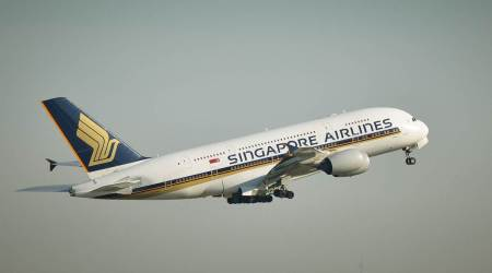 Singapore Airlines, fantasy flying, flights to nowhere, pop up restaurant, Changi Airport in Singapore, pandemic, indian express news