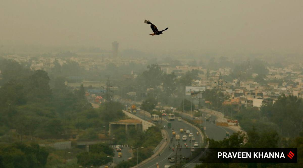 delhi pollution, delhi ncr pollution, Delhi air pollution, Delhi air quality index, delhi aqi, Prakash Javadekar, delhi city news