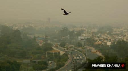 delhi pollution, delhi ncr pollution, Delhi air pollution, Delhi air quality index, delhi aqi, Prakash Javadekar, delhi city news