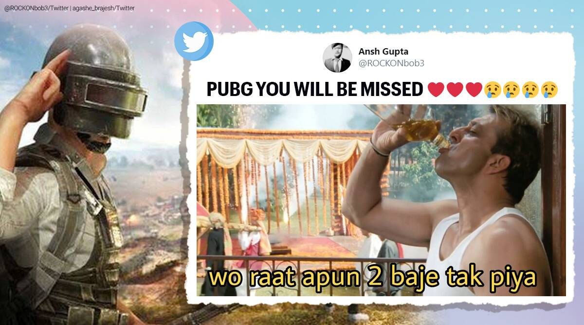 pubg, pubg ban, Pubg mobile lite, pubg mobile application, pubg banned India, #pubg, India Chinese app ban, pubg ban memes, Chinese app ban in India, Chinese app ban news, #Pubgmobile, Chinese app ban list, India china tension, Trending news, Indian Express news.