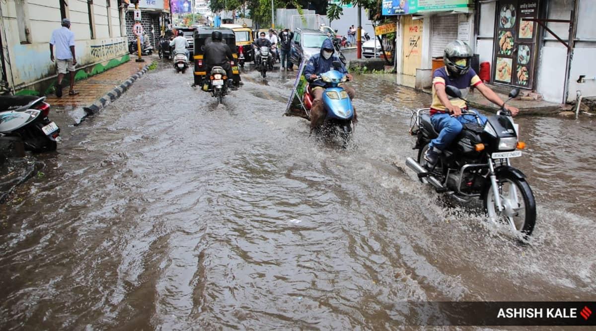 maharashtra rains, Mumbai rains, Pune rains, maharashtra floods, Mumbai floods, Pune floods, indian express